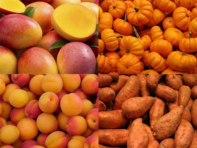 Μεσογειακή διατροφή και Όραση-Mango-Βερύκοκο-Γλυκοπατάτα