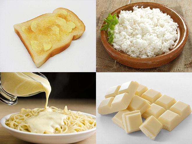 Μεσογειακή διατροφή και Όραση-Άσπρα τρόφιμα
